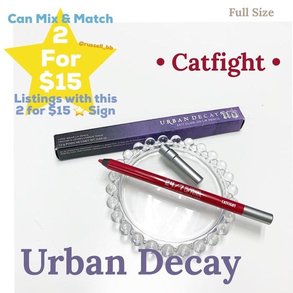 Urban Decay Other - Urban Decay Glide-on Lip Pencil • Catfight •
